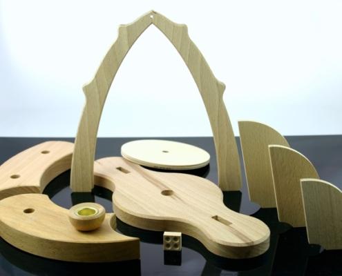 Holzteile Zulieferung CNC gefräst