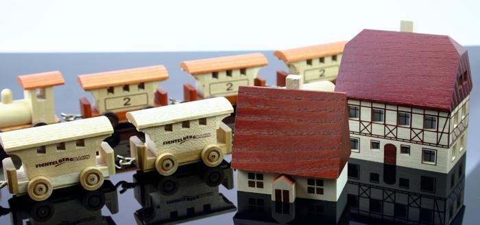Tampondruck auf Holzteilen