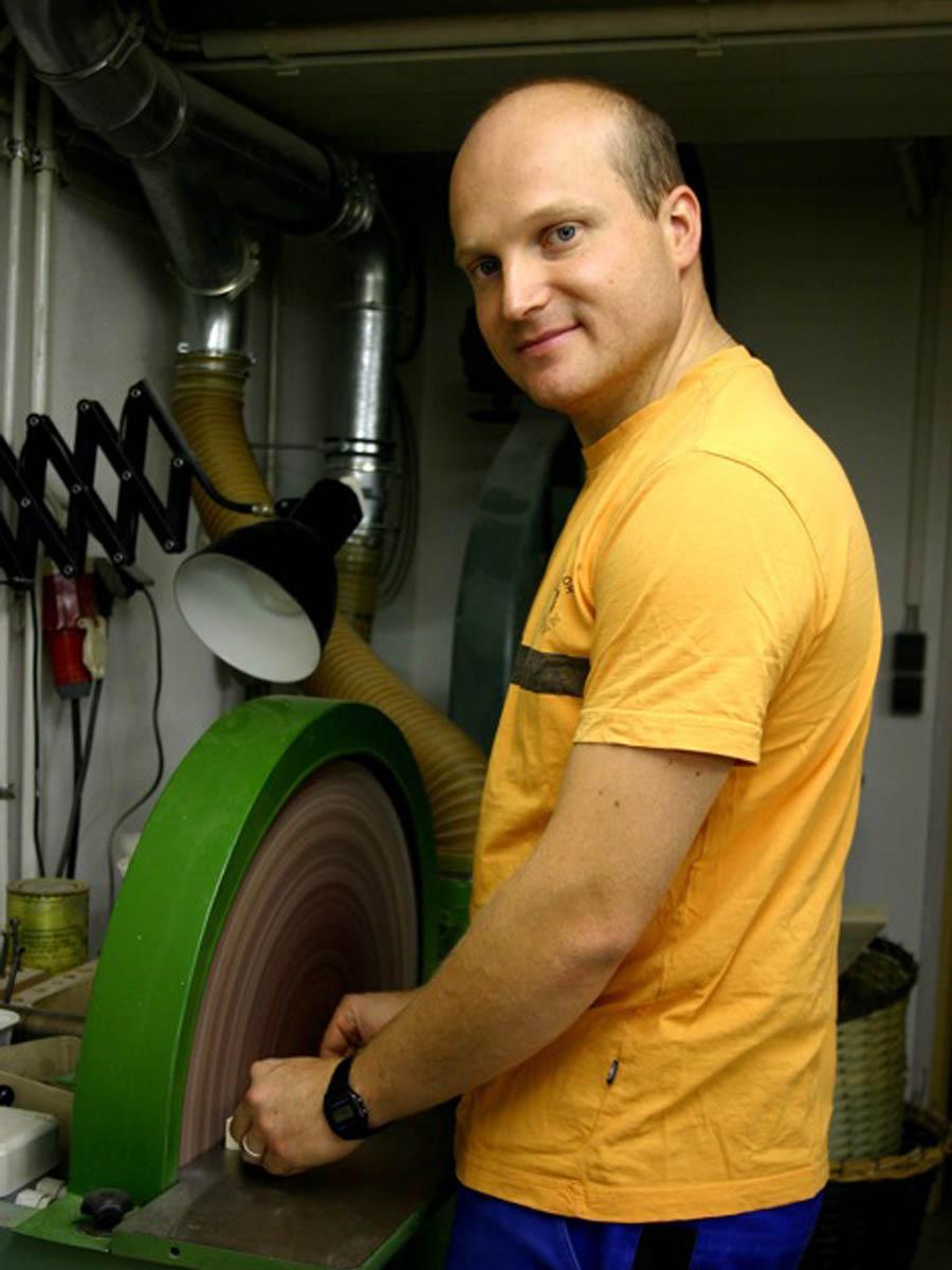 Stephan Kaden Schleifscheibe