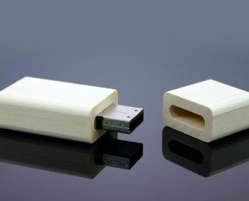 USB Stick Holz CNC gefräst