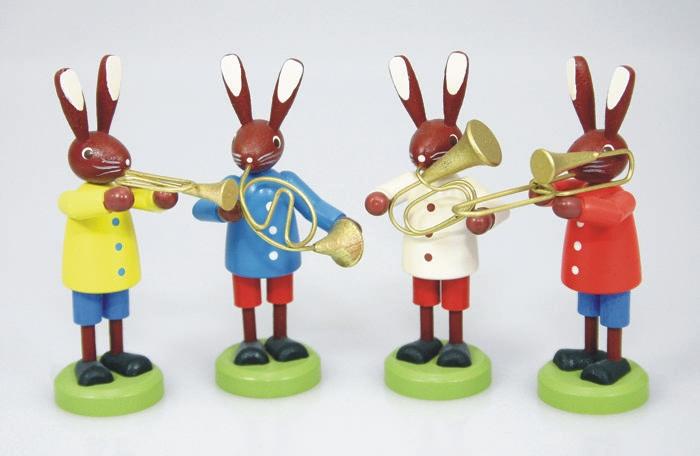 Osterhasen Instrumente