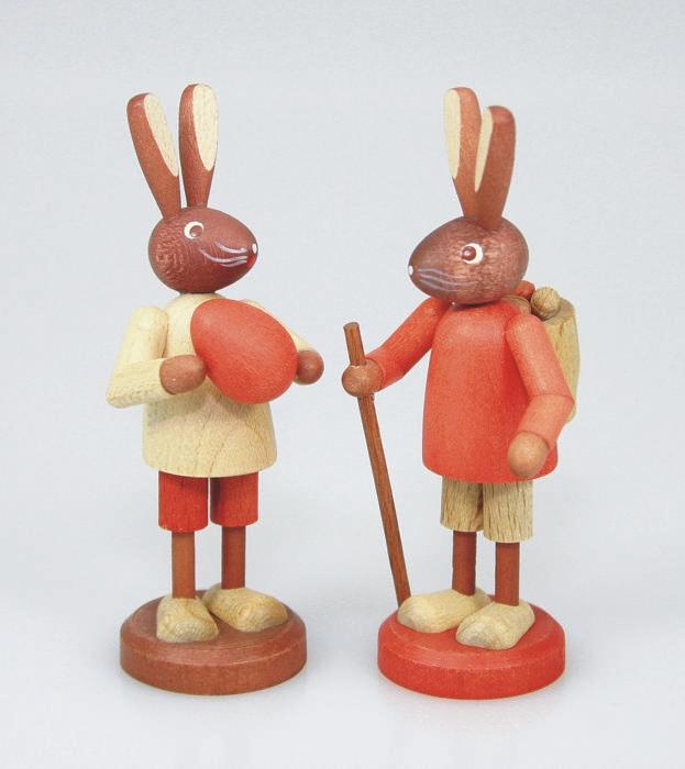 Osterhasen Paar