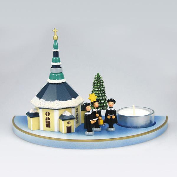 Teelichthalter Seiffener Dorf