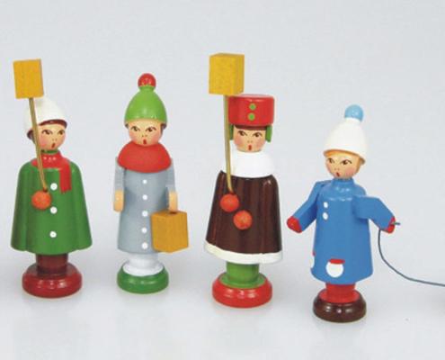 Miniaturen Schlitten Winter