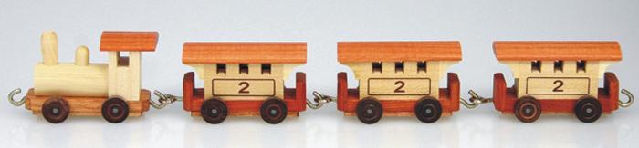 Miniatureisenbahn Personenzug