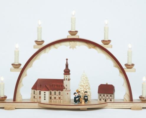Schwibbogen 7 Kerzen