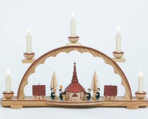 Schwibbogen 5 Kerzen